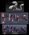 Lobster Monster 3D model by Bawarner