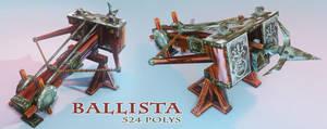 Low Poly Ballista by Bawarner
