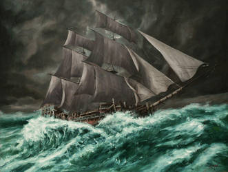 Ship Low by john-clark-33