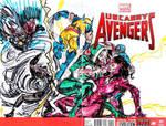 uncanny avengers II by joselrodriguesart