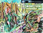Swamp thing by joselrodriguesart