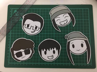 [PHOTO] - Sticker Batch 1: College by Its-Joe-Time
