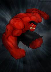 Red Hulk by shamserg