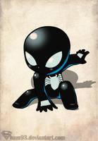 Little Black Spider-man by shamserg