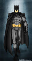 Batman by shamserg