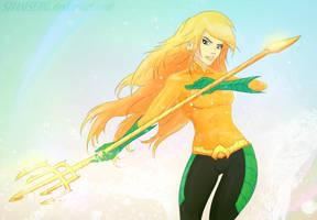 Aquagirl by shamserg