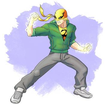 Iron Fist by shamserg