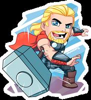 Thor Chibi by shamserg