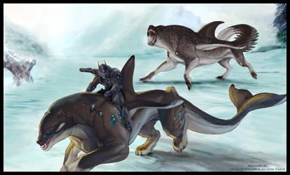 SPLICERS Patrol of the Akhluts by ChuckWalton