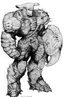 Lemurian Crustacean Bio-Armor by ChuckWalton