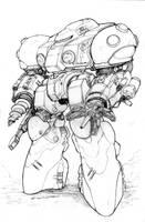 Black Market Prospect Mole Power Armor by ChuckWalton