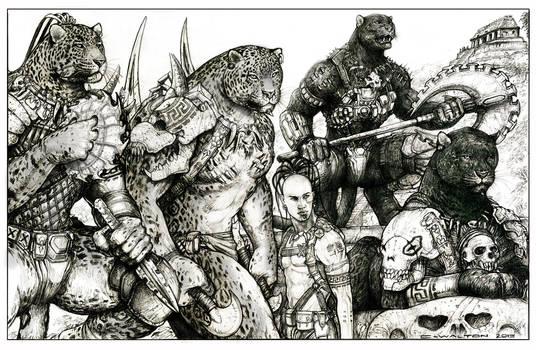 Bone Were jag pride at Palenque by ChuckWalton