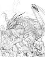 RIFTER 64 Palladium Fantasy Ice Dwellers Cover by ChuckWalton