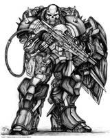 RIFTS CS Death Knight by ChuckWalton
