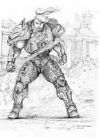RIFTS Cyber Knight by ChuckWalton