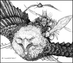 Eagle riders by ChuckWalton