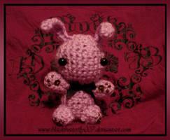 LIght-Violet Bunny by Si3art
