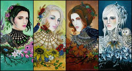 Season Sisters by Si3art