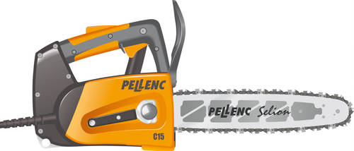 Pellenc C15 Chainsaw 2 by BolFAB