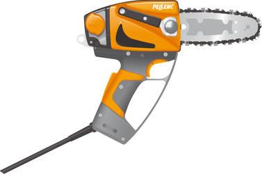 Pellenc M12 Chainsaw 1 by BolFAB