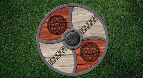 Nordman Shield by Wrath-of-Vader