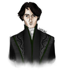 Severus Snape by NereaM