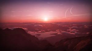 Rose Sunset by RushFreak2