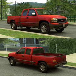[Source] 1999 GMC Sierra 1500 Extended Cab by RushFreak2