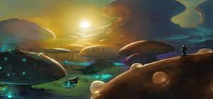 Dawn on a New World by noahbradley