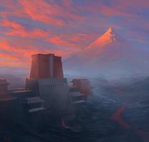 Dragon's Breath Castle by noahbradley