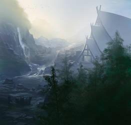 Hidden Falls Dojo by noahbradley