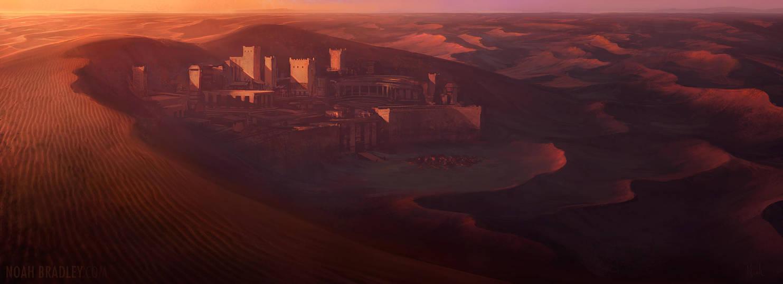 Bloodstone Oasis by noahbradley