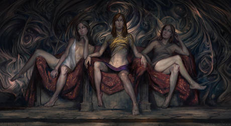 The Three Sisters Blind by noahbradley