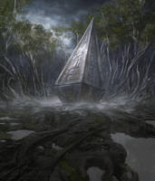 Overgrown Tomb by noahbradley
