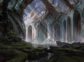 Dimir Swamp by noahbradley