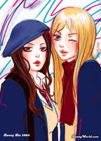 Blair and Serena by LannySu