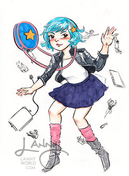 Ramona Flowers by LannySu