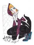 Spider Gwen by LannySu