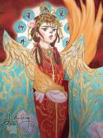 Priestess of Suzaku by LannySu