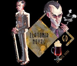 GD app - Zlatomir Novac NEW by CrowFaced