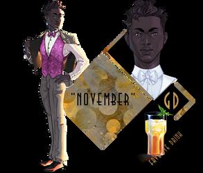 [GD] - App - November by CrowFaced