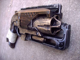 Nerf Steampunk Hammershot by Segerev