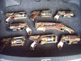 Steampunk Nerf Collection by Segerev