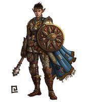 Mercenary: Superstition by chrisknightart