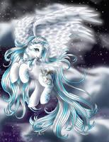 Silverwind the pony of light by FlyingPony