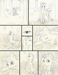Chapter 12 page 5 sketch by FlyingPony