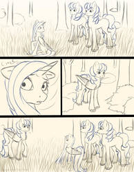 Chapter 12 page 6 sketch by FlyingPony