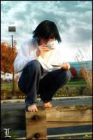 L tea on the Fence by key0fdestiny13