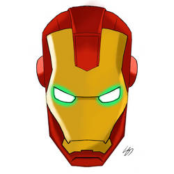 My take on iron man by shawngs9701