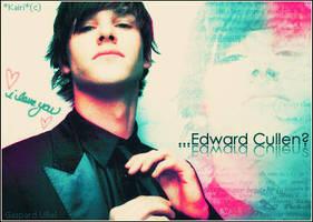 Gaspard Ulliel... Edward? by KairiSakura